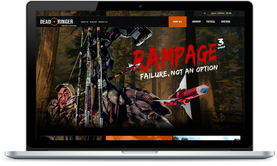 Deadringer Hunting Website