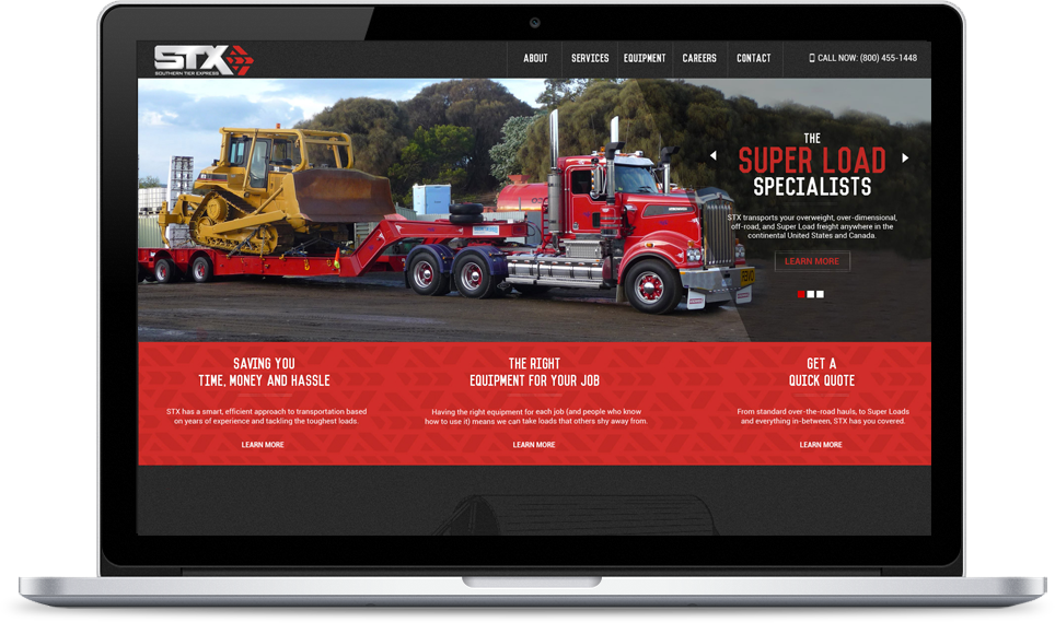 STX Website Branding