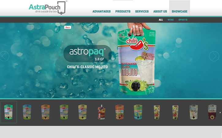 Astrapouch Website Branding Three