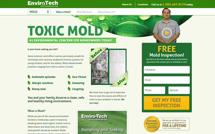 Envirotech Website Branding Two