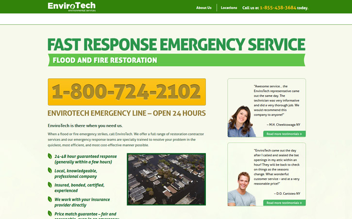 Envirotech Website Branding Three