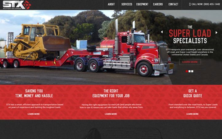 STX Website Branding One