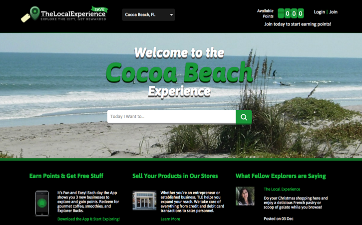 The Local Experience Website Branding One