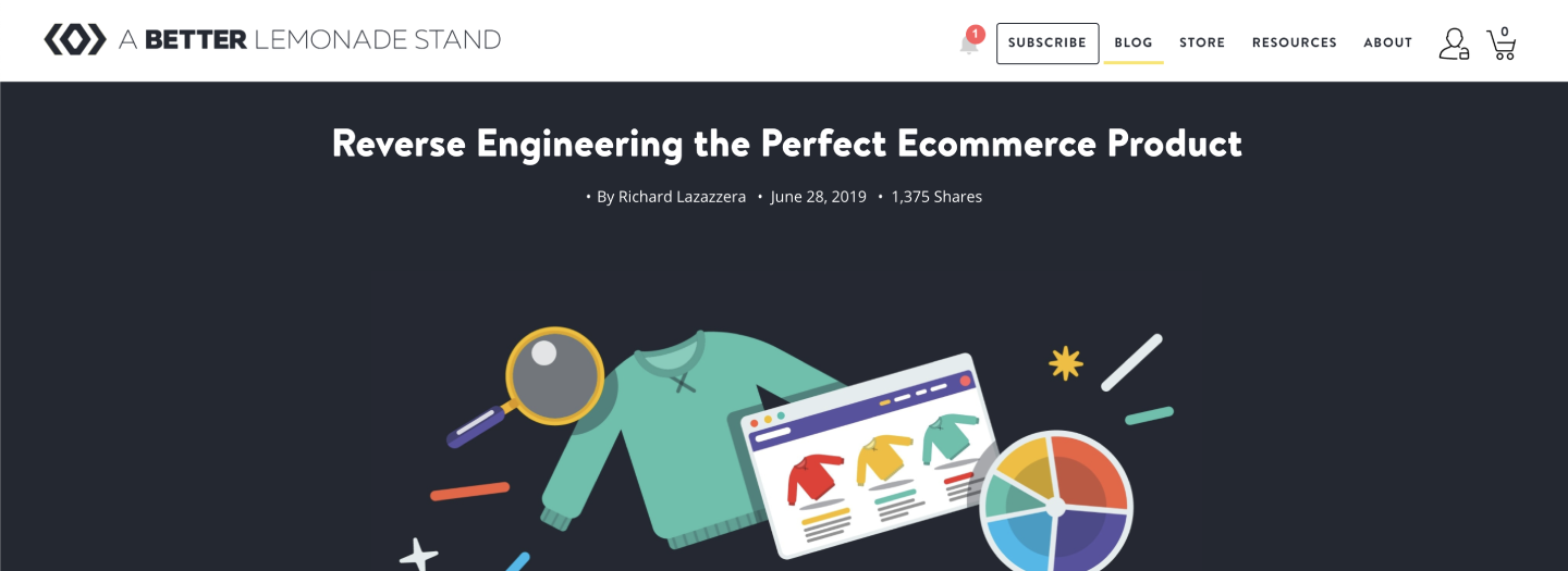 Reverse Engineering the Perfect Ecommerce Product