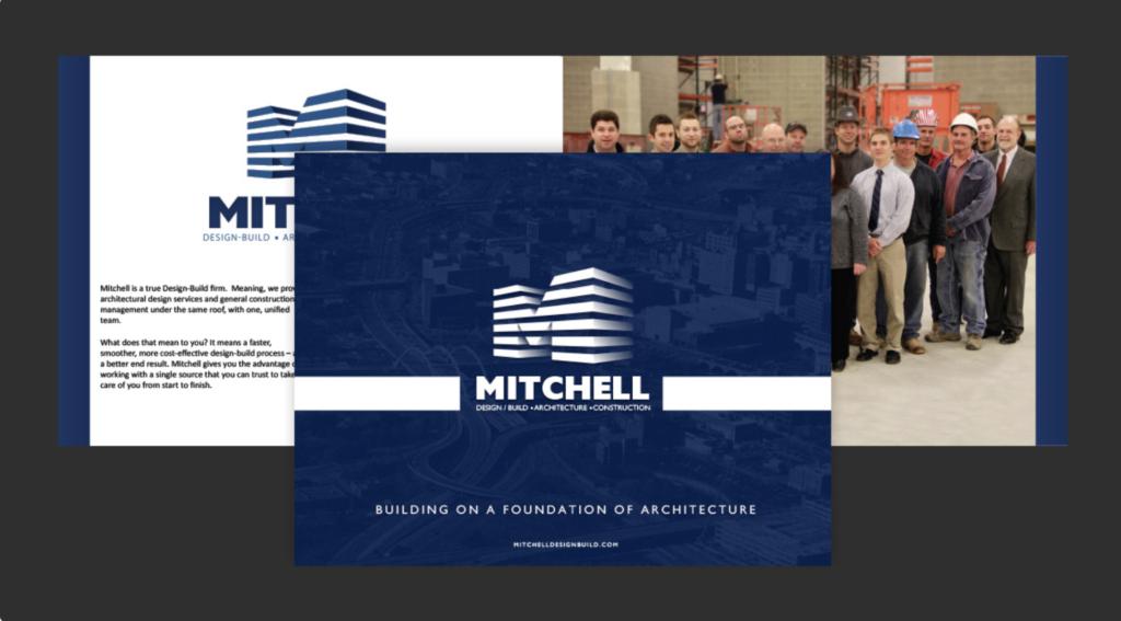 Mitchell Design Build Brochure Image