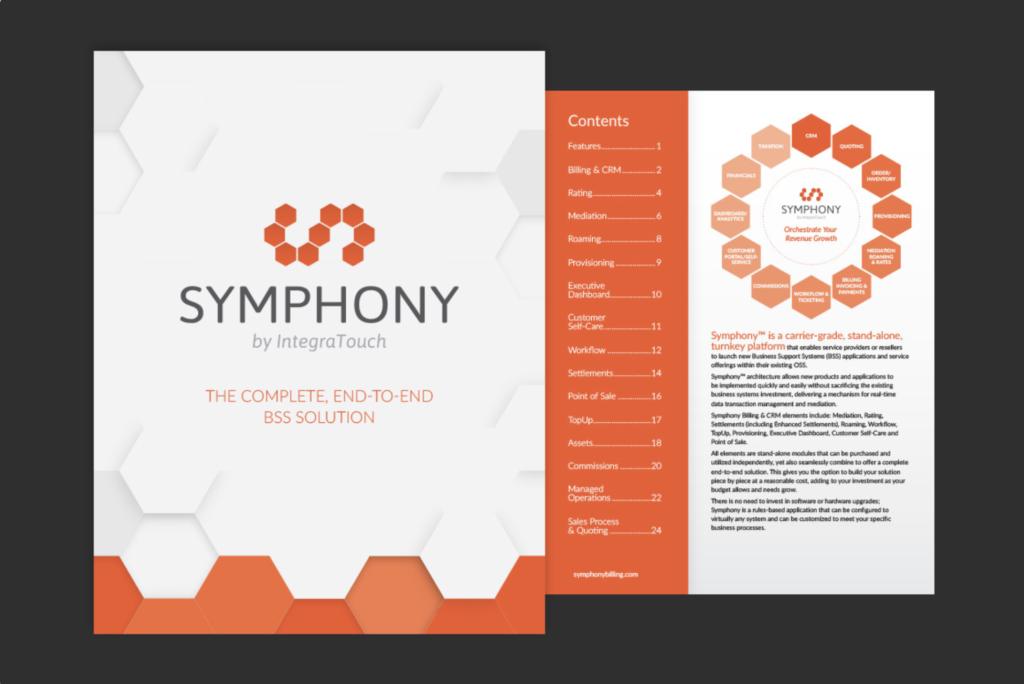 Symphony Brochure Image